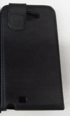 1 * Samsung Galaxy Note 2 Black Flip Down Case