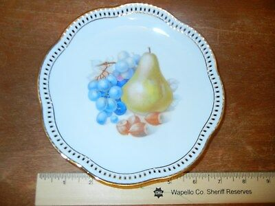 Schumann Arzberg Germany reticulated plate