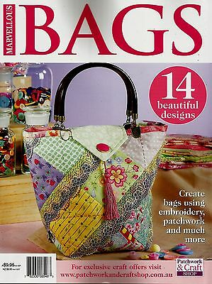 Marvellous  Bags Magazine 2016   Pattern Sheet Attached