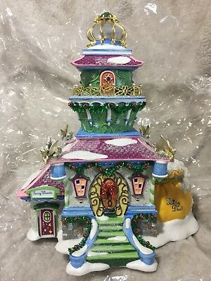 DEPT 56 NORTH POLE TINKER BELL'S LIGHTHOUSE NEW Disney Peter Pan
