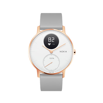 Nokia Steel HR Heart Rate & Activity Tracking Watch 36MM ROSE GOLD / GREY