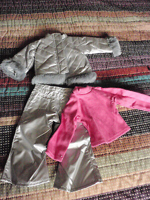 Tonner Magic Attic  Silver Pants , Jacket ,pink Shirt