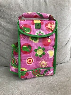 Super Cute Penny Scallan Insulated Lunch Bag Fruit Apples Like New Girls