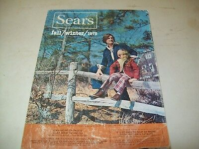 Vintage 1975 Sears Fall/Winter Catalog