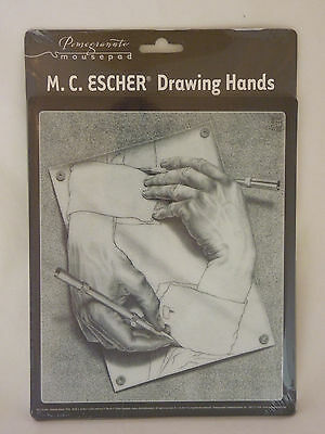 Pomegranate Mousepad M.C. Escher Drawing Hands New Sealed