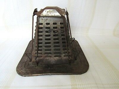 Vintage Antique 4 Sided Slice Toaster Stove Top Campfire Camping