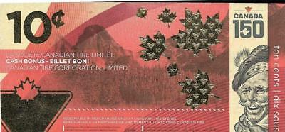 CANADIAN TIRE ~ Special Ed. 10 Cents for Canada 150 - FREE SHIPPING Canada / USA