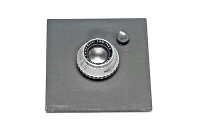 Beseler 4 x 4 Lens Board with Pilot & 75mm Lens for 6 x 6 Negative Printing