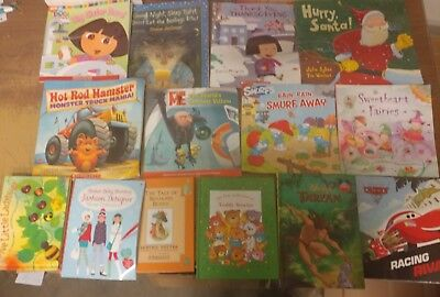 Lot of 50 K-5 Scholastic Learn to Read Picture Mix Set Kid Children Book #G29 NR