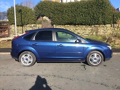 2007 Ford Focus 1.6 Ghia Low Mileage In Ex Condition With Factory Fitted Tow Bar