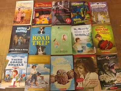 Lot of 60 Chapter Scholastic Disney RL 2 3 4 5 Child Books AR MIX UNSORTED #G30