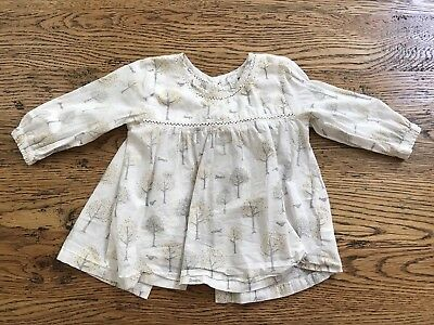PUREBABY - Girls - Tunic/ Top/ Shirt, Size 0 (6-12 Months), great condition