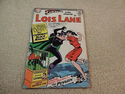 Lois Lane  #70 1966  1st Silver Age Appearance of Cat Woman