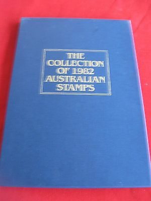 Collection of Australian Stamps 1982 - 1 album in slip case with stamps