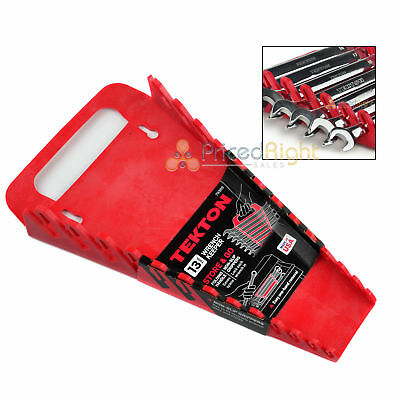 13 Slot Wrench Organizer Holder Tray Portable Rack Tekton Tools 79369 Metric SAE