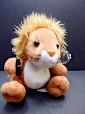 International Coca Cola Beanie Animals (MASA the LION from MOZAMBIQUE) NWT