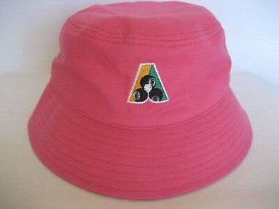New! Pink Cotton Lawn Bowls Bucket Hat - Half Price only $8.50