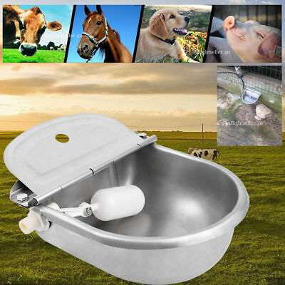 Automatic Stainless Stock Water Waterer Horse Cattle Goat Sheep Dog Farm
