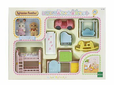 Sylvanian Families Calico Critters Doll Cute Baby Furniture Set Epoch JP SE-193