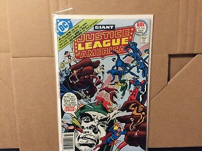 Justice League of America 144 High Grade DC Comics Superman Flash Bronze Age