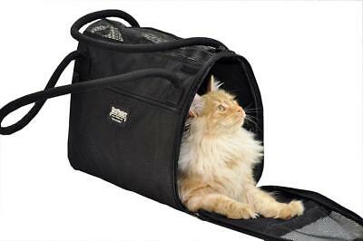Incognito Pet Carrier Black Sturdi Bag