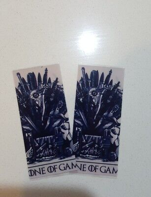 pair Game of thrones 18650 battery wraps