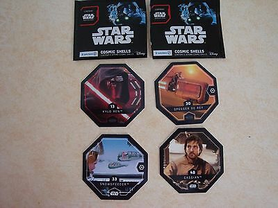 STAR WARS COSMIC SHELLS AU CHOIX N° 13, 17, 25, 30,31, 33,34 ou 48