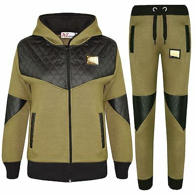 Kids Tracksuit Boys Girls Designer's A2Z Project Zipped Top Bottom Jogging Suits