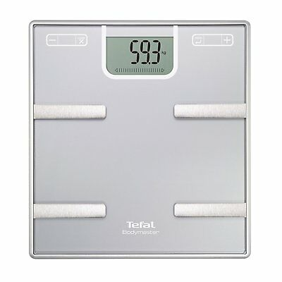 Tefal Bodymaster Bm6010 Electronic Personal Scale Rectangle Silver Personal Scal