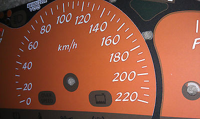 VT VX Holden Commodore SS Tiger Mica Dial Fascia also suits VU Ute, HSV & WH