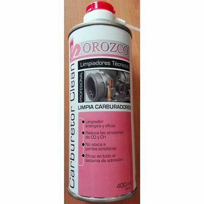 Limpiador de carburadores en spray 400ml.