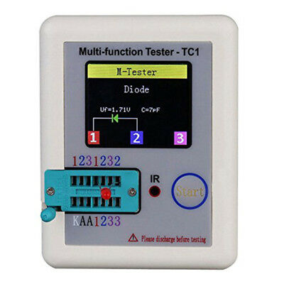 Professional LCR-TC1 Multi functional Transistor Tester Colorful Display HYUX8