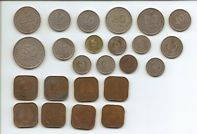 MALAY and BRITISH COLONIES - Selection of Coins