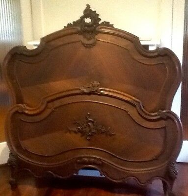 French Louis XV Style Double Bed