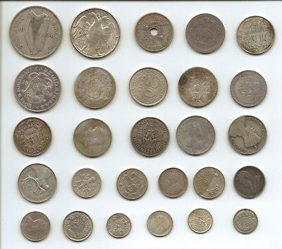 MIXED REGIONS - Large Selection of Silver Coins