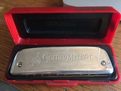 Hohner Golden Melody E Major Great Condition Diatonic Germany