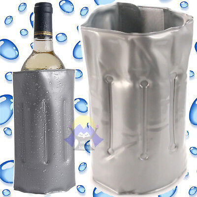 Raffredda BOTTIGLIE in GEL Cooler RINFRESCA Bottle FREEZE per VINO Ghiaccio BAR