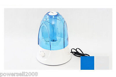 New 4L Large Tank Nebulizer Ultrasonic Mist Maker Warm Mist Humidifier Diffuser