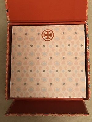 Tory Burch Sticky Notes / Post-It Notes 3.25 by 3.25 come in Decorative Box