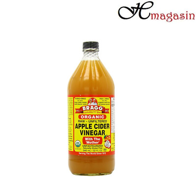 Braggs Organic Apple Cider Vinegar 946ml with Mother ***FREE DELIVERY***