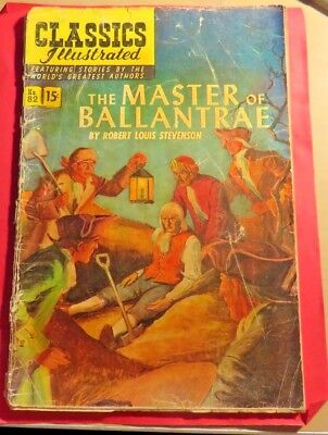 Classics Illustrated #82 The Master of Ballantrae First Edition (1951)  CB330