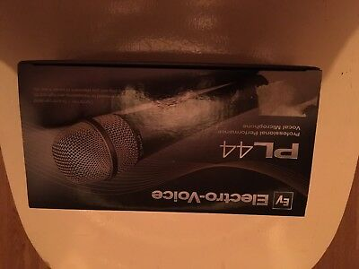 Electro-Voice Supercardioid Dynamic Vocal Microphone PL44 Mic