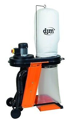 DJM Heavy Duty Industrial Workshop 1hp Dust Collector Dust Extractor 240v ReCo