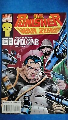 The Punisher War Zone Vol.1 (1992-1995) Issue #33 FN Marvel