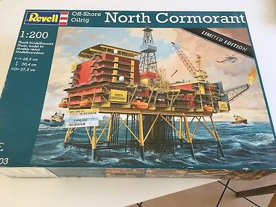 REVELL  Off-Shore Oilrig NORTH CORMORANT   1:200     * Limited Edition * 08803