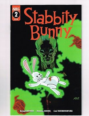Stabbity Bunny #2 First Print Unread Nm Hard To Find Hot!!!!