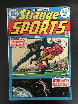 Strange Sports Stories #3 VF 1974. Swan, Giordano