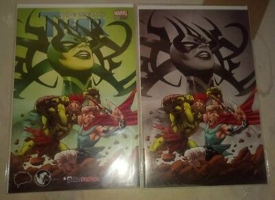 The Mighty Thor #700 Brain Trust / Unknown Comics Greg Land With Virgin Variant