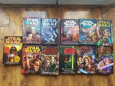 star wars books hardback joblot 11 books collectable