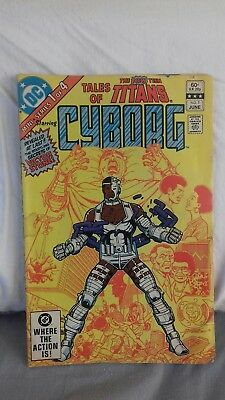 Tales of the New TEEN TITANS  #1 -  1st CYBORG ORIGIN DC Justice League